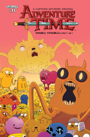 Adventure Time #71 (Subscription McCormick Cover)