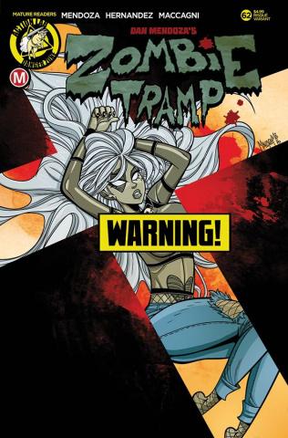 Zombie Tramp #62 (Maccagni Risque Cover)