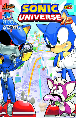 Sonic Universe #75 (Ben Bates Cover)