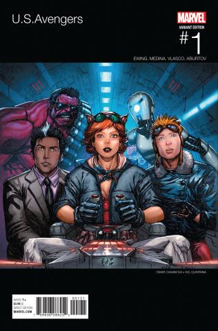 U.S.Avengers #1 (Casanova Hip Hop Cover)