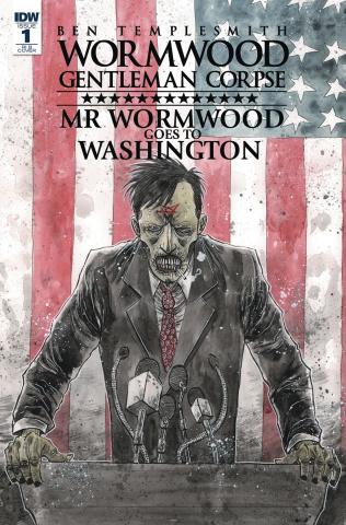 Wormwood: Gentleman Corpse - Mr. Wormwood Goes To Washington #1 (10 Copy Cover)