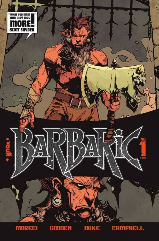 Barbaric #1 (2nd Printing)