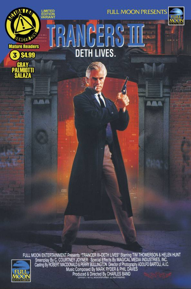 Trancers #3 (Movie Poster Cover)