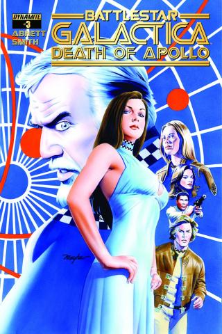 Battlestar Galactica: Death of Apollo #3 (Mayhew Cover)