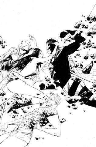 Vampirella: The Dark Powers #4 (50 Copy Lee B&W Virgin Cover)