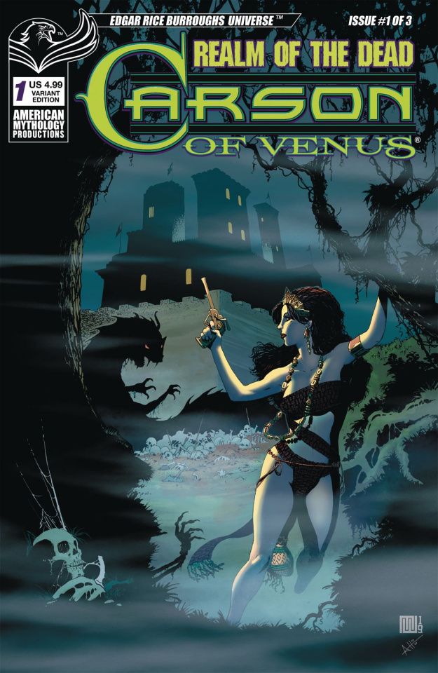 Carson of Venus: Realm of the Dead #1 (Wolfer Cover)