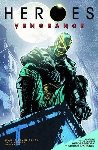 Heroes: Vengeance #3 (Subscription Padilla Cover)