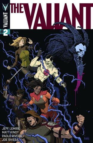 The Valiant #2 (2nd Printing)