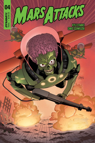Mars Attacks #4 (Coleman Cover)