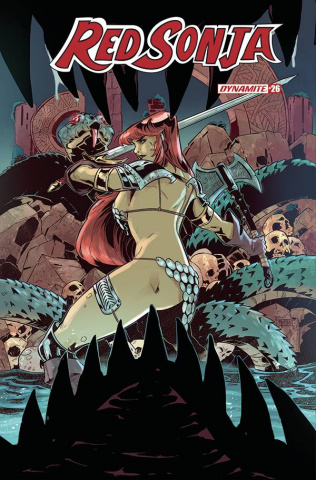 Red Sonja #26 (Miracolo Cover)