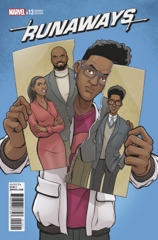 Runaways #13 (Sands Cover)