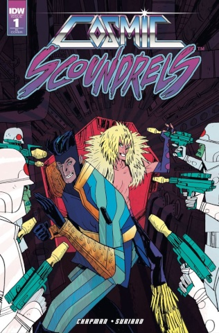 Cosmic Scoundrels #1 (10 Copy Cover)