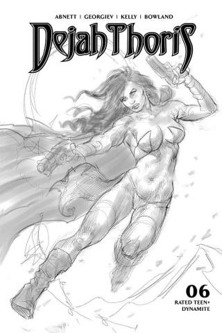 Dejah Thoris #6 (10 Copy Parrillo B&W Cover)
