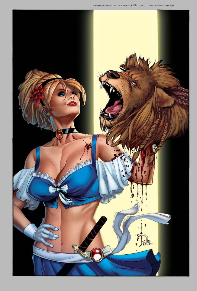 Cinderella: Serial Killer Princess #3 (Johnson Cover)