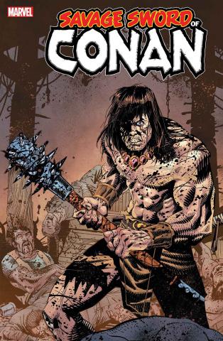 The Savage Sword of Conan #10 (McCrea Cover)