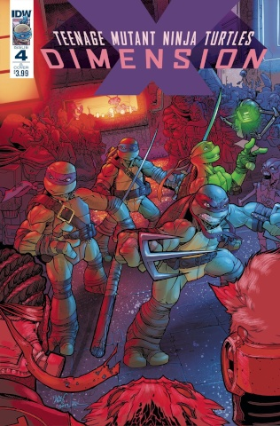 Teenage Mutant Ninja Turtles: Dimension X #4 (Johnson Cover)
