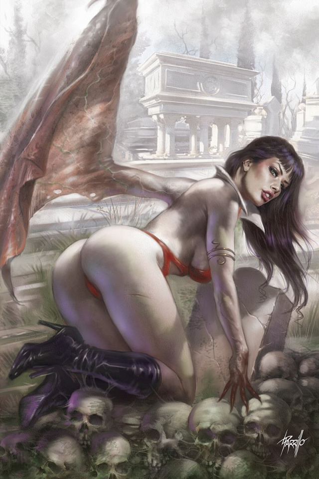 Vengeance of Vampirella #2 (Parrillo Virgin Cover)
