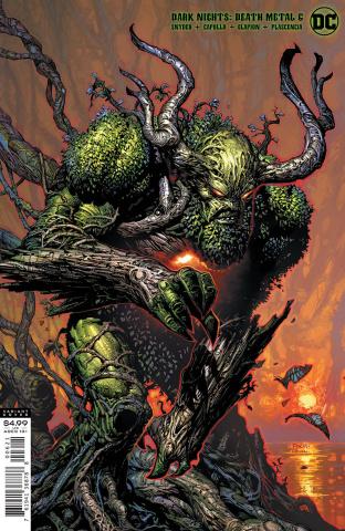 Dark Nights: Death Metal #6 (David Finch Swamp Thing Cover)
