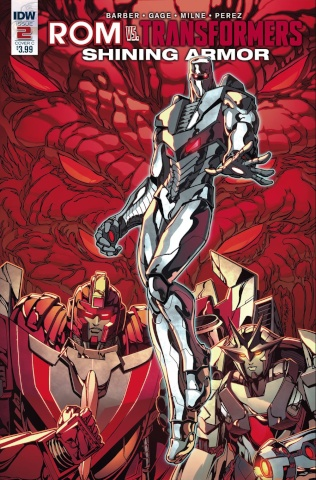 ROM vs. The Transformers: Shining Armor #2 (Sears Cover)