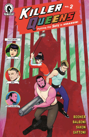 Killer Queens #2 (Balboni Cover)