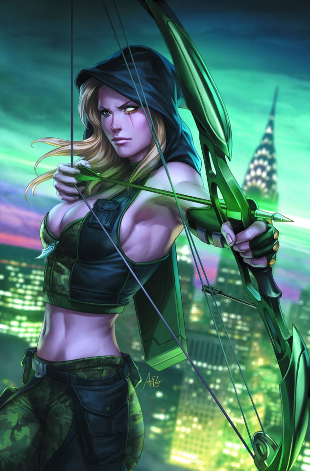 Grimm Fairy Tales: Robyn Hood - Wanted #1 (Artgerm Cover)