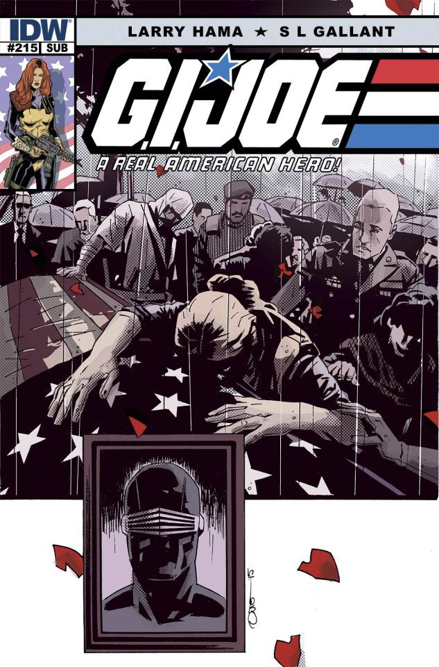G.I. Joe: A Real American Hero #215 (Subscription Cover)