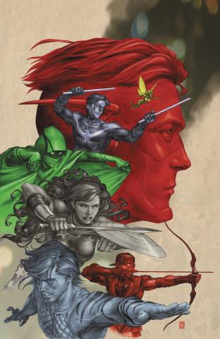 Titans #4 (Variant Cover)