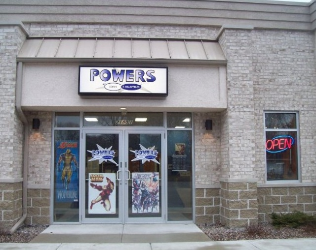 Powers Comics & Collectibles
