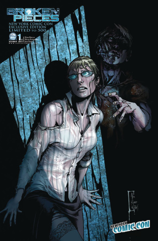 Broken Pieces #1 (NYCC 2011 Cover)