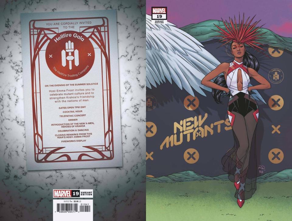 New Mutants #19 (Dauterman Connecting Cover)