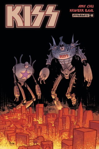 KISS #10 (Strahm Cover)