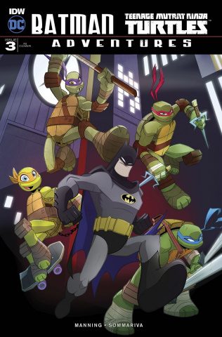 Batman / Teenage Mutant Ninja Turtles Adventures #3 (10 Copy Cover)