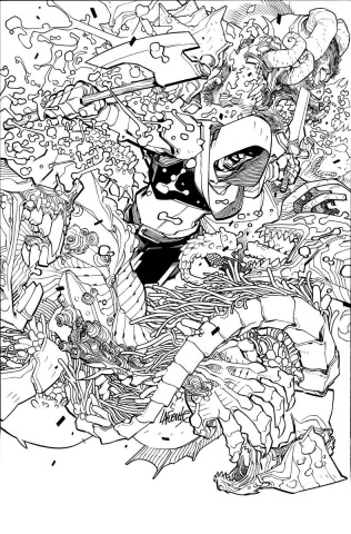 Wrath of the Eternal Warrior #2 (50 Copy B/W Cover)