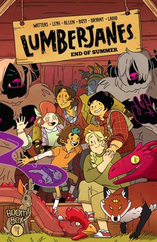 Lumberjanes: End of Summer #1 (Leyh Cover)