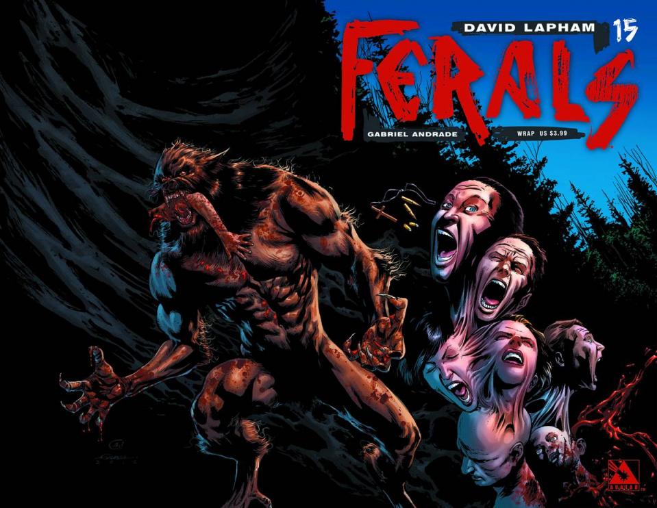 Ferals #15 (Wrap Cover)
