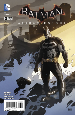 Batman: Arkham Knight #3 (Variant Cover)