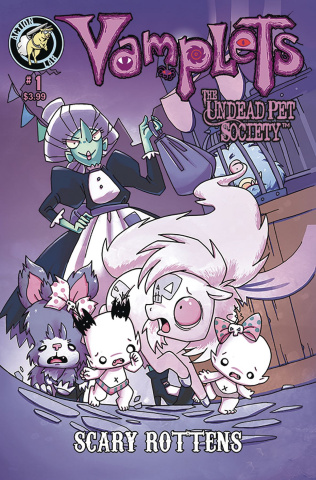 Vamplets: The Undead Pet Society #1 (Scary Rottens Coronado Cover)