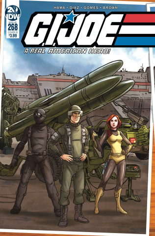 G.I. Joe: A Real American Hero #268 (Sullivan Cover)