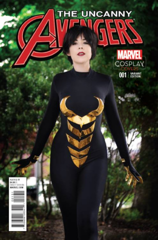 Uncanny Avengers #1 (Cosplay Cover)