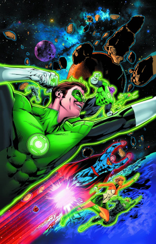Action Comics #44 (Green Lantern 75th Anniversary Cover)