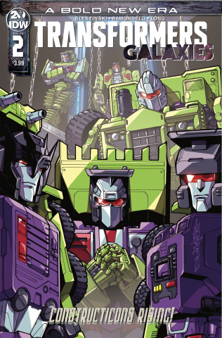 Transformers: Galaxies #2 (Milne Cover)