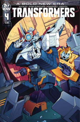 The Transformers #4 (Miyao Cover)