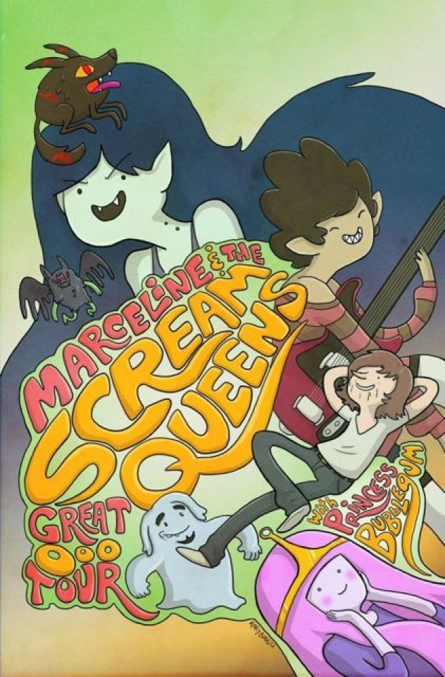 Adventure Time: Marceline and the Scream Queens #1 (2nd Printing)
