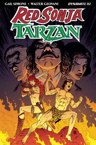 Red Sonja / Tarzan #2 (Geovani Cover)