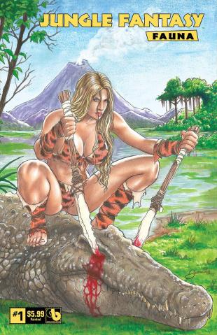 Jungle Fantasy: Fauna #1 (Painted Cover)