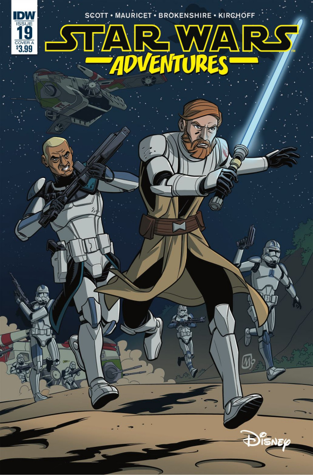 Star Wars Adventures #19 (Mauricet Cover)
