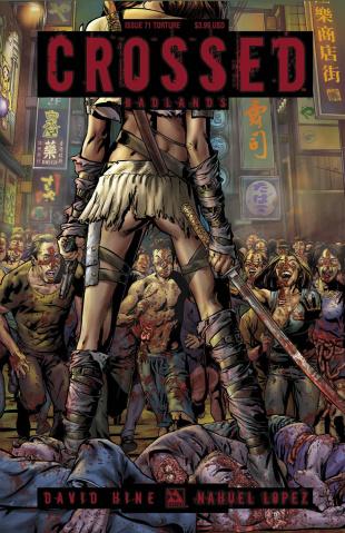 Crossed: Badlands #71 (Torture Cover)