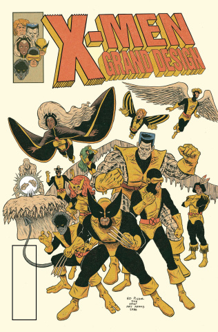 X-Men Grand Design: Second Genesis #1 (Character Cover)