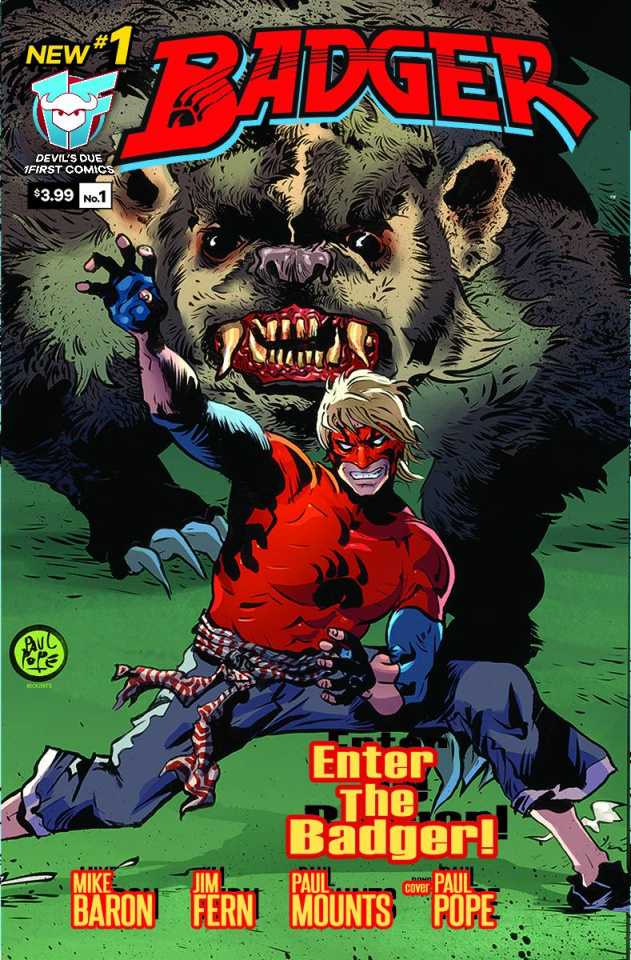 Badger #1 (10 Copy Cover)