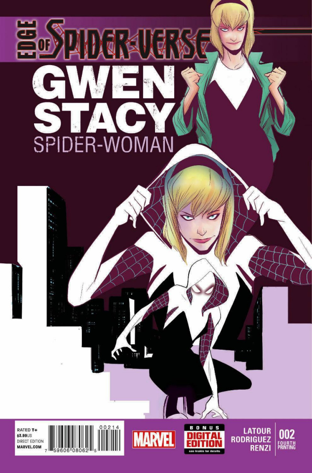 Edge of Spider-Verse #2 (4th Printing)